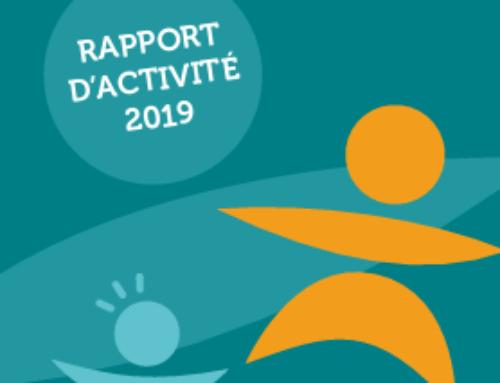 Découvrez notre Rapport d'Activité 2019
